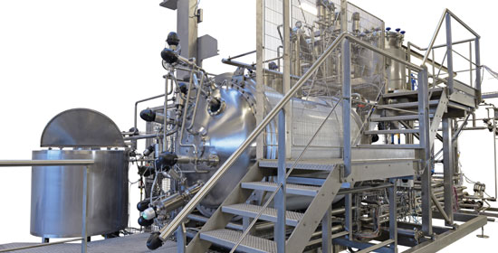 aseptic proces plant for food